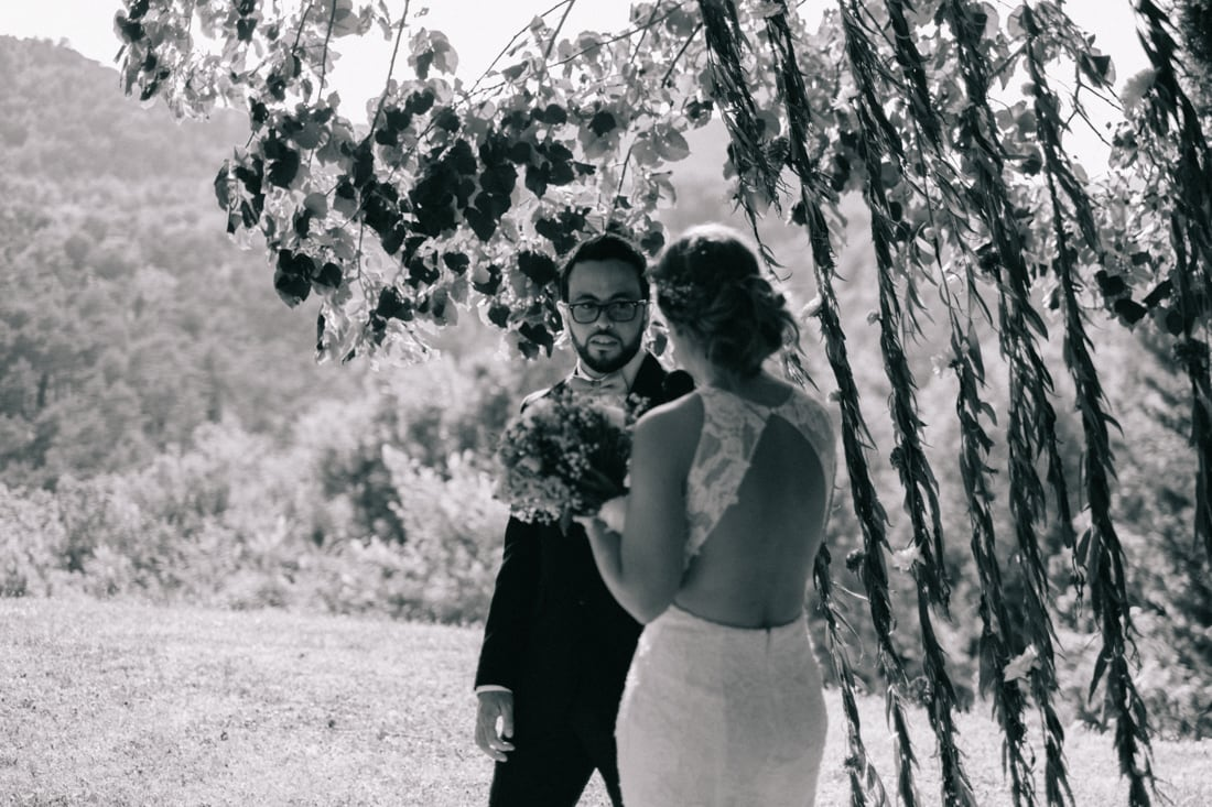 Los votos de la boda