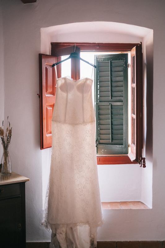 Vestido de boda - Boda en Masía del Marqués