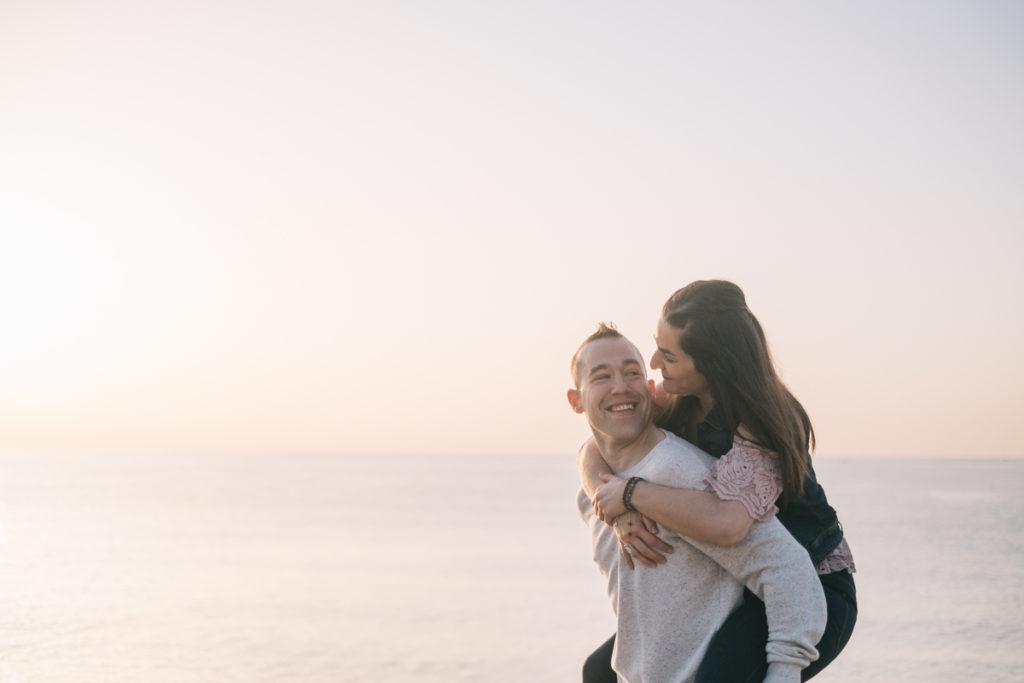 Sesión de pareja en Badalona