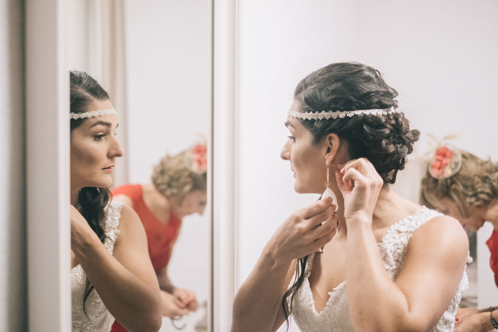 Detalles de boda - la novia