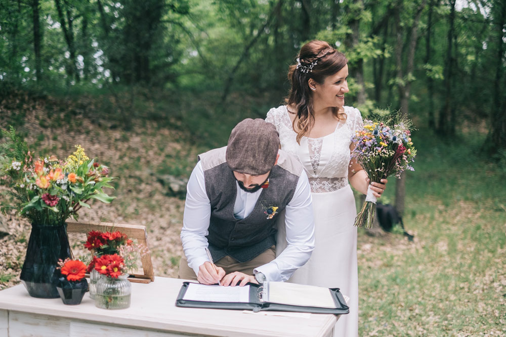 Firmas de boda