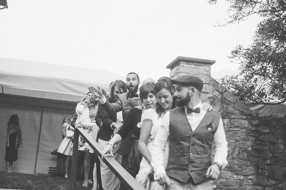 Congas en las bodas