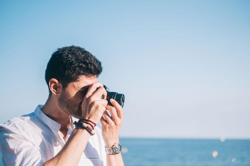 Sesión de fotos preboda en a playa